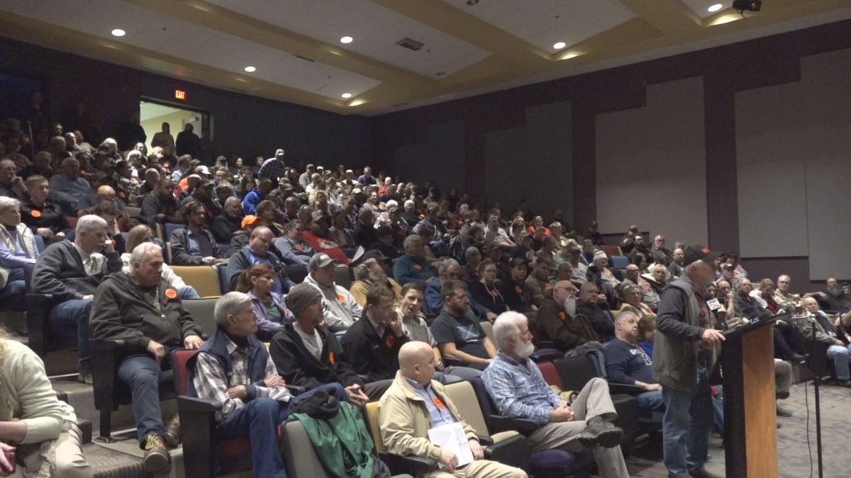 More than three dozen people spoke at Monday night's meeting, with most in favor of becoming a...