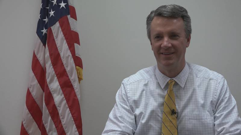 Congressman Ben Cline discusses his new expansion bill on Monday, July 19. (WHSV)