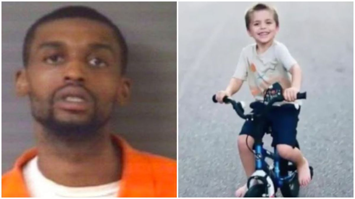 Darius N. Sessoms, 25, was charged with first-degree murder and was being held without bond for the killing of 5-year-old Cannon Hinnant.