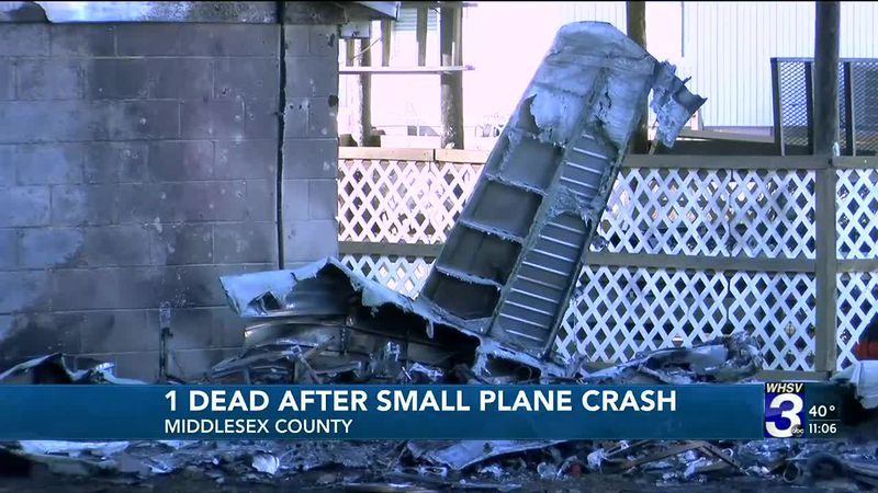Police: Person dies after plane crashes into garage