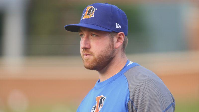 Tyler Zombro, a Staunton native and minor league pitcher.