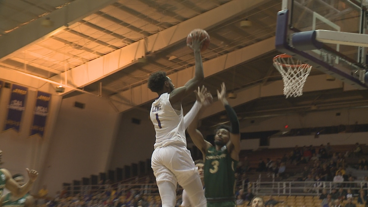 Matt Lewis scored 22 points to help the James Madison men's basketball team earn a season-opening win over Charlotte Wednesday night at the Convocation Center.