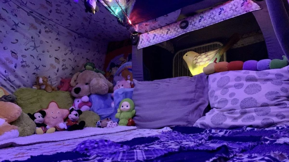 Building Together Apart is encouraging people of all ages to get creative and release their inner child during the coronavirus pandemic and build a fort.