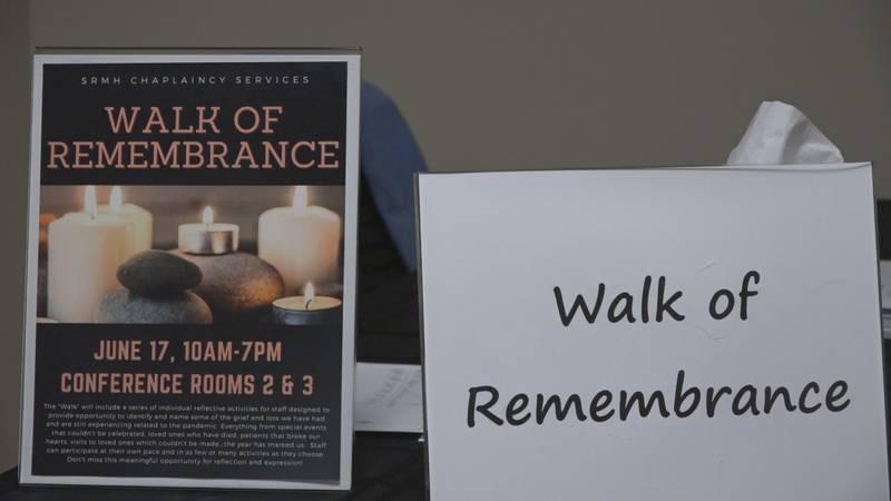 "Sentara RMH holds ""Walk of Remembrance"""