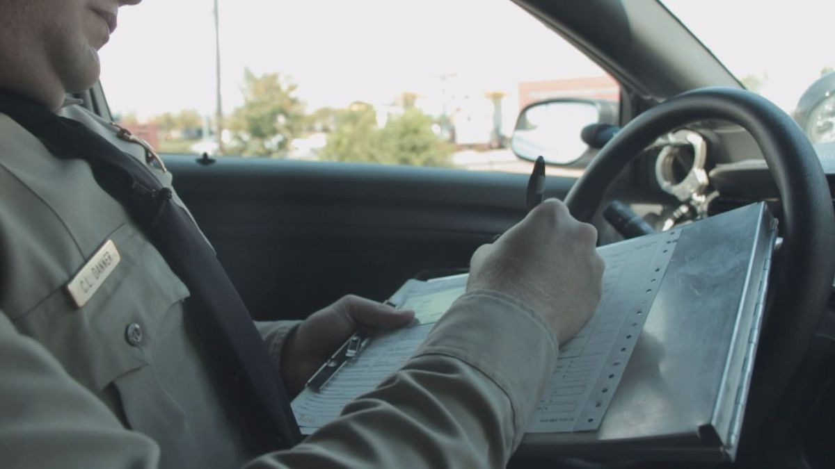 Most information written down will already be recorded off of a driver's license.