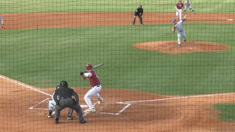 The James Madison baseball team lost to College of Charleston, 14-7, Friday evening.