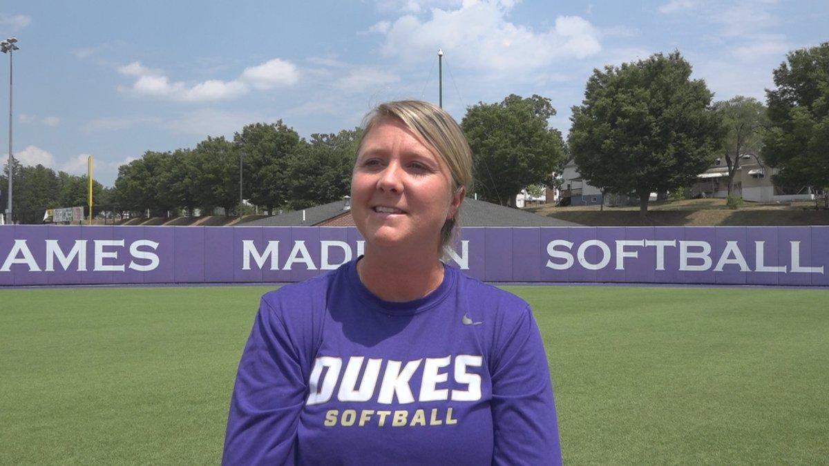 Loren LaPorte on Team USA softball