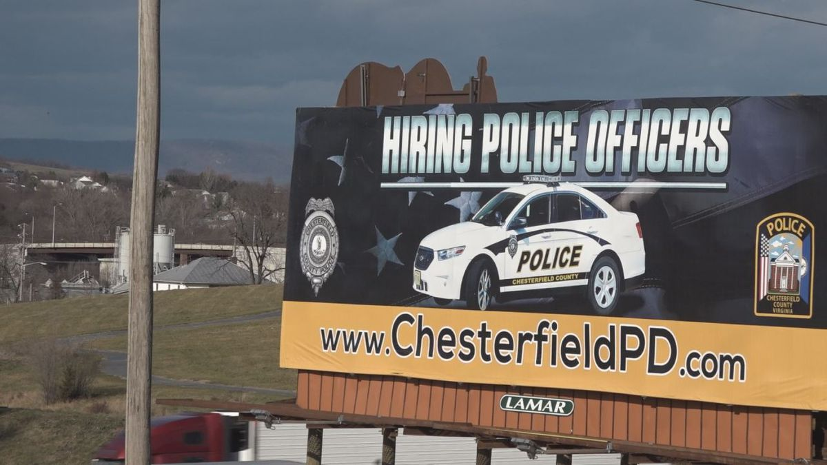The billboard went up alongside I-81 in November. | Credit: WHSV