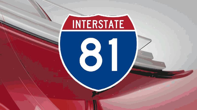 A crash along Interstate 81 North at mile marker 243 in Rockingham County has closed northbound...