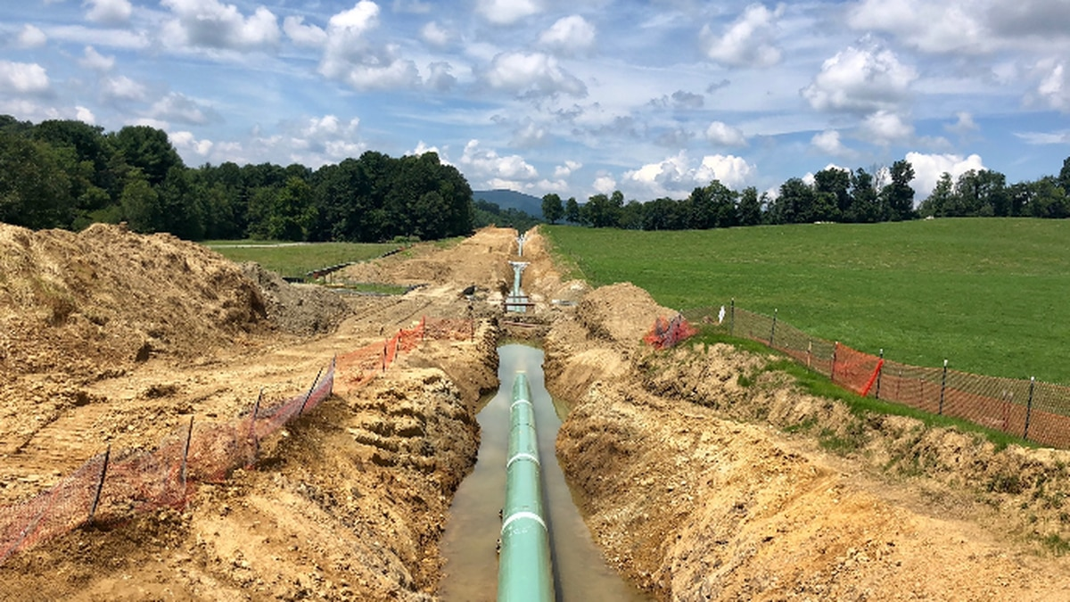 File image of Mountain Valley Pipeline construction