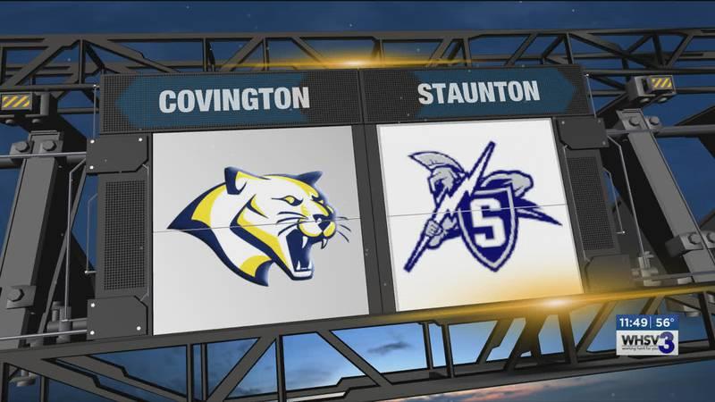 Staunton opened the season at home against Covington.