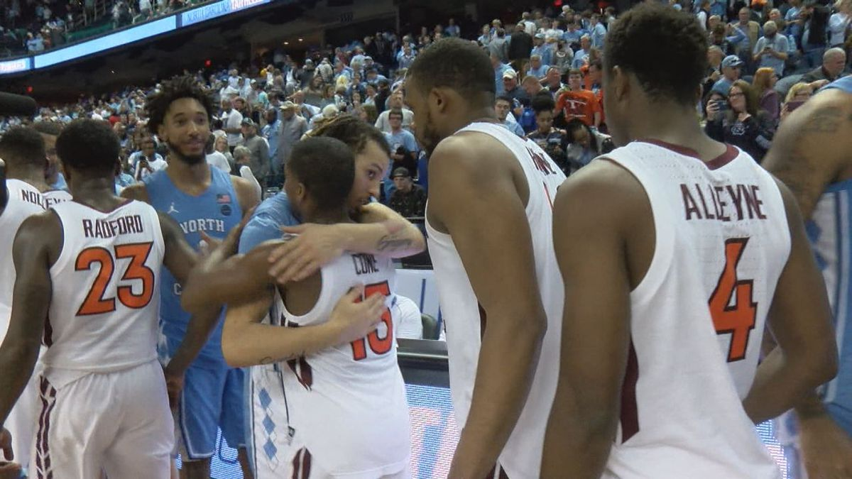 The Virginia Tech men's basketball team lost to North Carolina, 78-56, Tuesday night in the first round of the ACC Tournament.