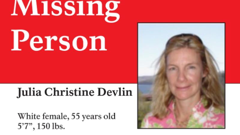 Julia Christine Devlin was last seen in Charlottesville on Wednesday, July 14.
