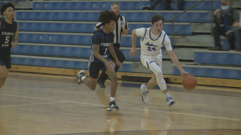 Fort Defiance beats Staunton 47-44 in the WHSV Game of the Week.