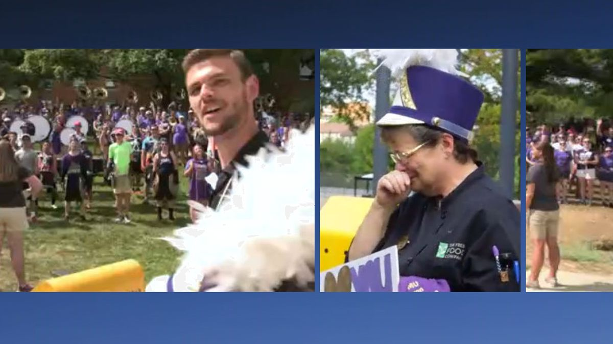 Video frames courtesy of Chase Maszle / JMU, composite by WHSV
