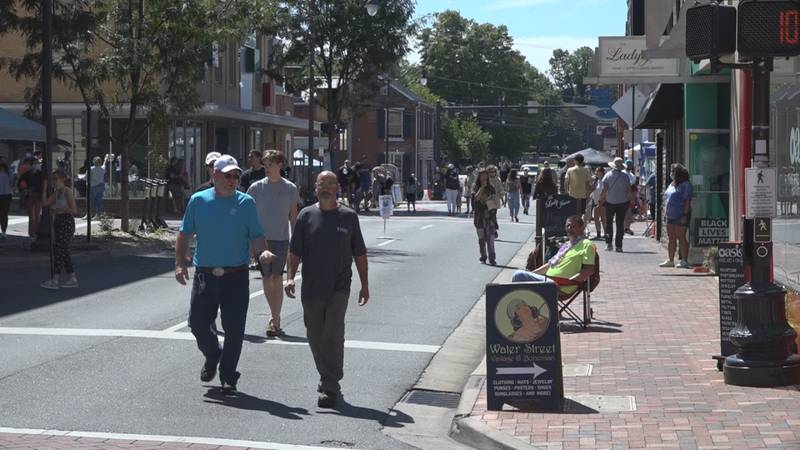The Best. Weekend. Ever. event was booming on Saturday in downtown Harrisonburg with it's all...