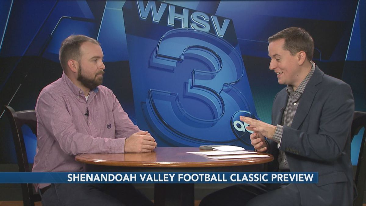 WHSV Sports Director talks with Cody Elliott of the Daily News-Record about the upcoming Shenandoah Valley Football Classic at JMU's Bridgeforth Stadium.