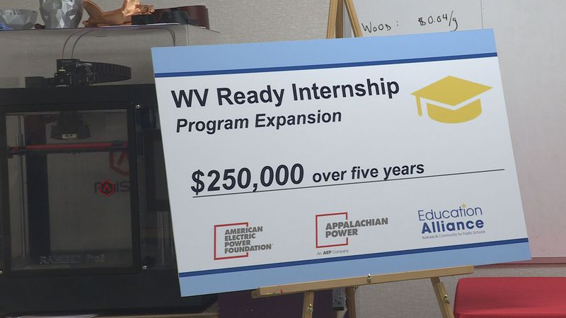 AEP on Wednesday granted $250,000 to the West Virginia Education Alliance, which will allow the...