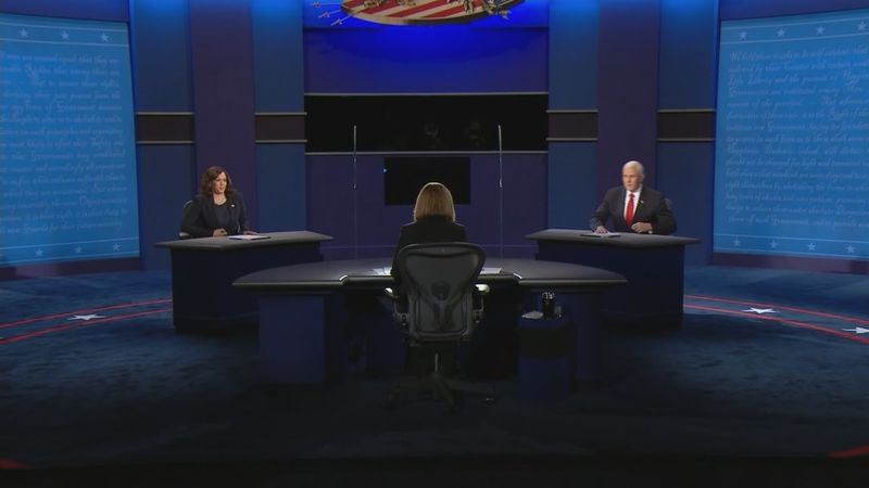 Senator Kamala Harris and current Vice President Mike Pence squared off in the only vice...