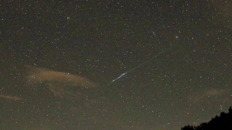 PHOTOS: Stunning photos of Perseids meteor shower from Brown Mountain overlook