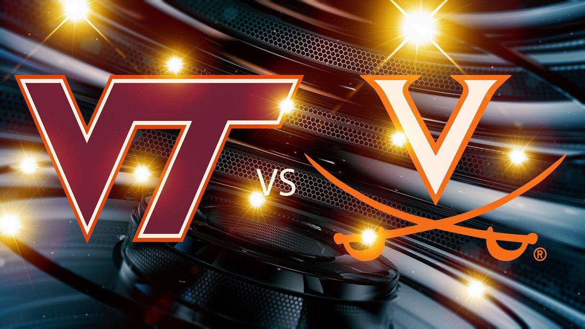 Saturday's scheduled men's college basketball game between Virginia Tech and UVA has been...