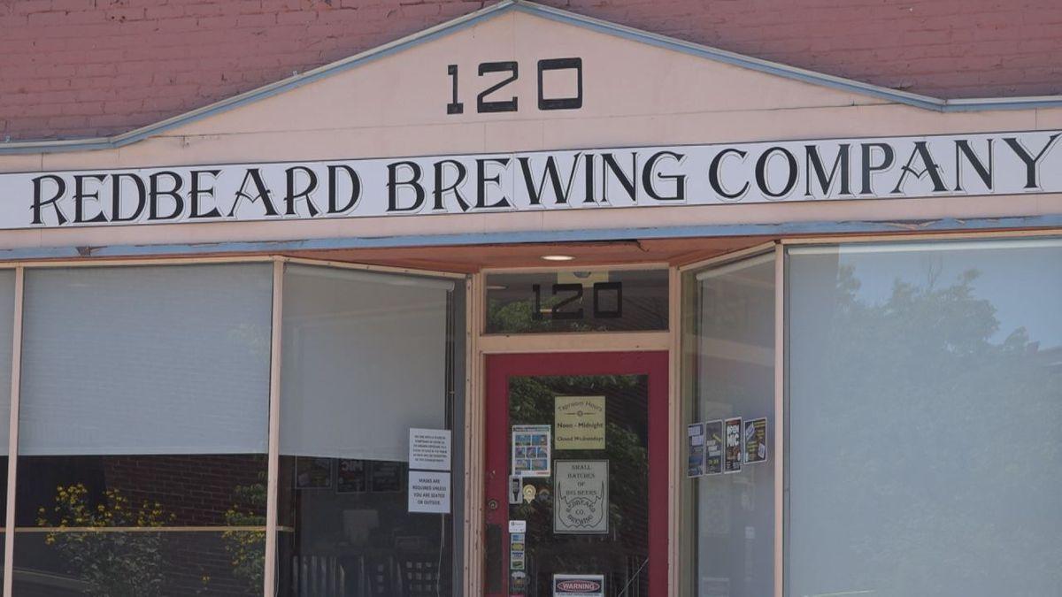 Redbeard Brewing Company in Downtown Staunton