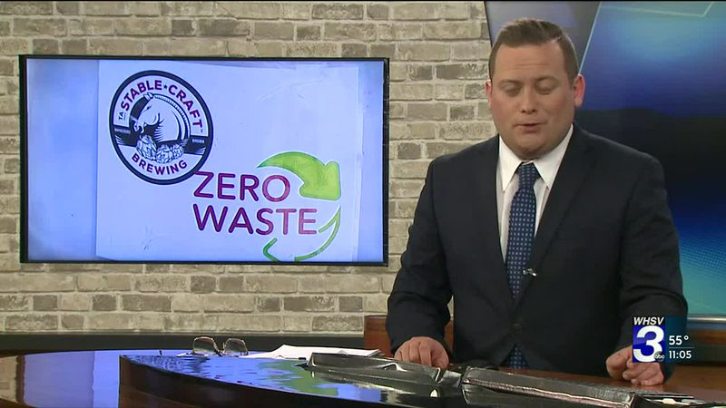 Brewery and farm in Augusta County commits to zero food waste