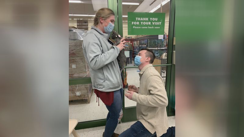 Grace Chown and Zack Lilly's engagement