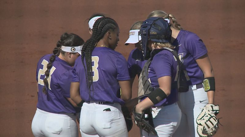 The James Madison softball team is hosting the CAA Tournament this week.