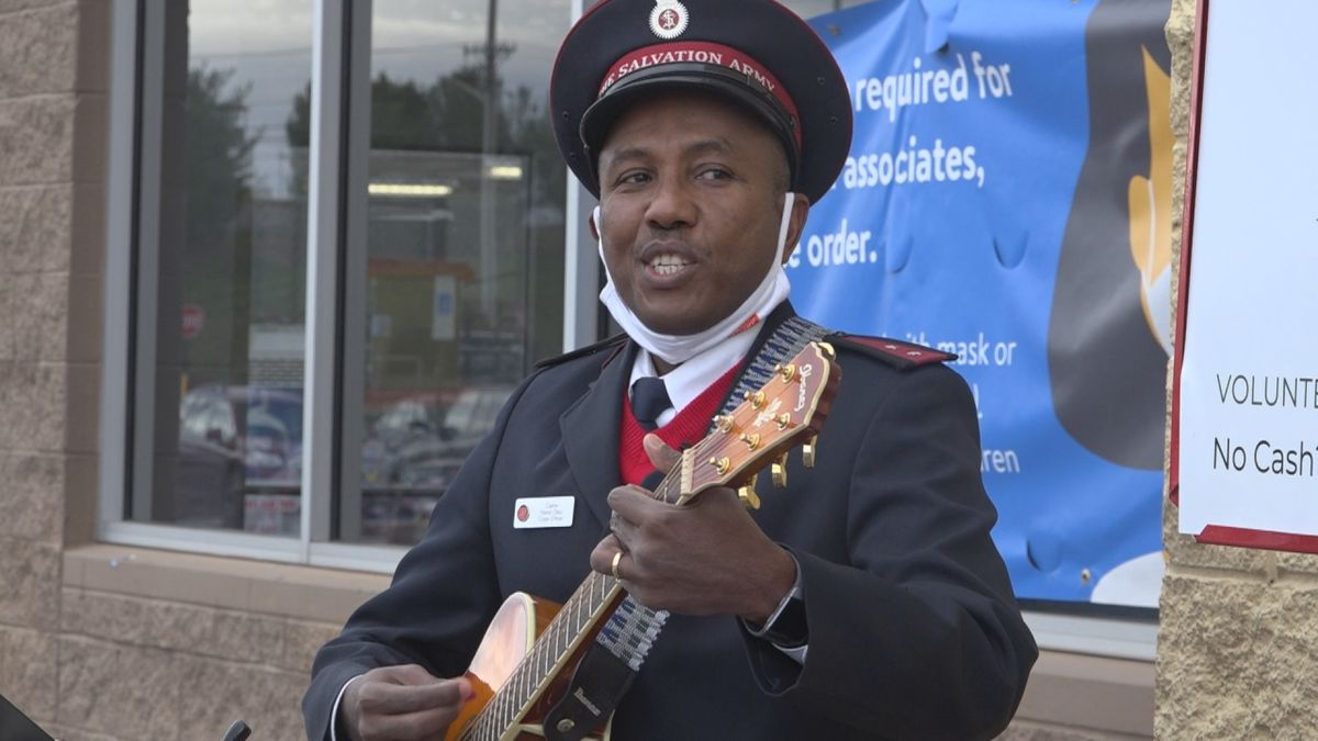 Capt. Gitau said he was excited for the challenge and wanted to play some music to make it fun.