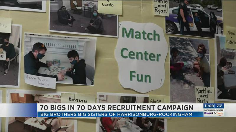 Local 'Big Brothers Big Sisters' looking for 70 bigs in the next 70 days