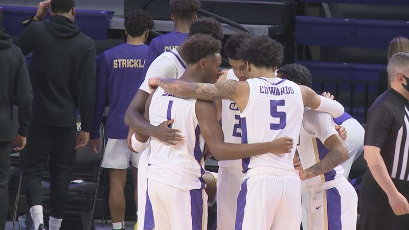 Mark Byington believes the JMU men's basketball team has been tested this season despite...