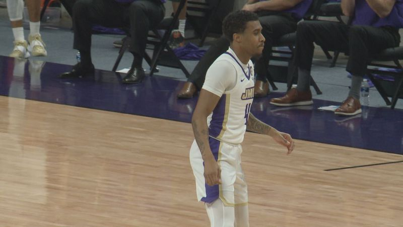 Vado Morse scored 30 points in JMU's Sunday win over Northeastern.