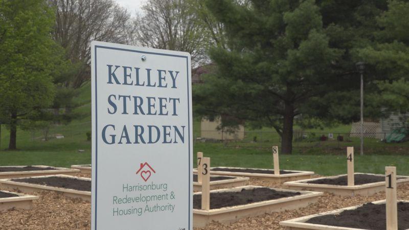 Kelley Street Garden in Harrisonburg