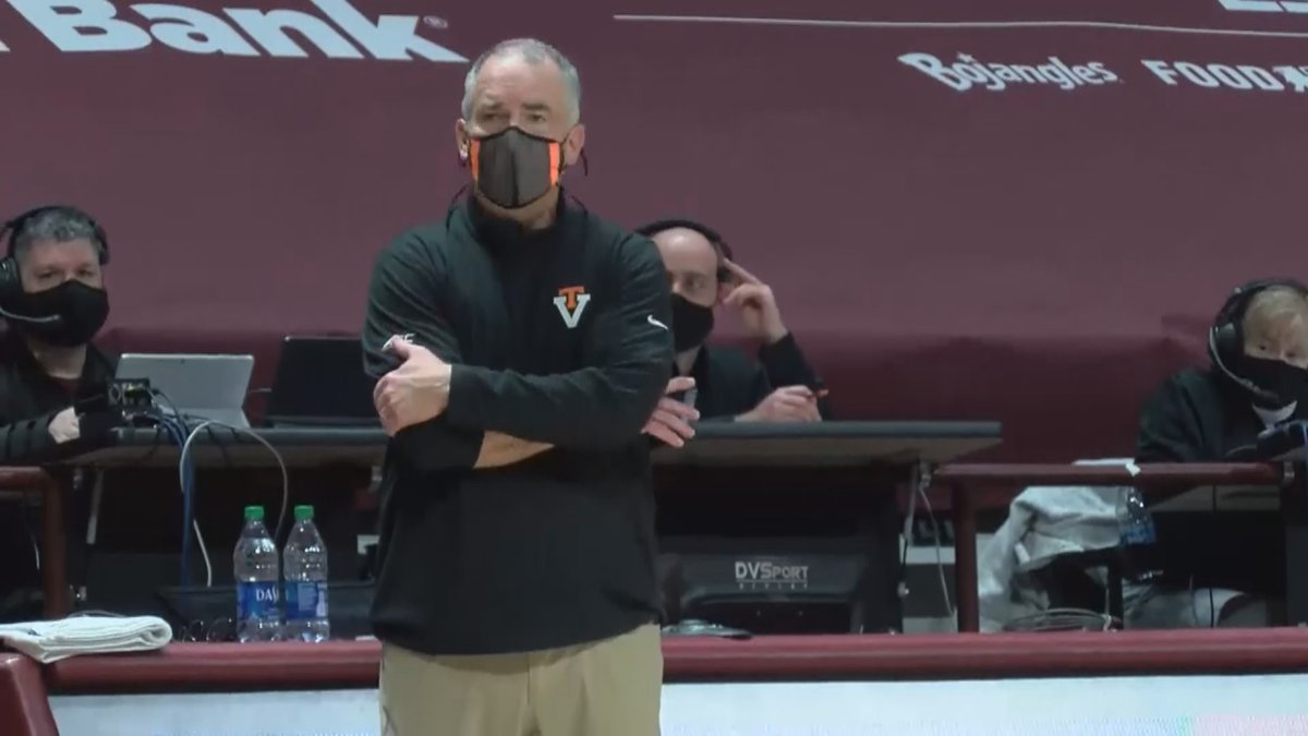 Virginia Tech men's basketball head coach Mike Young has been named the ACC Coach of the Year.