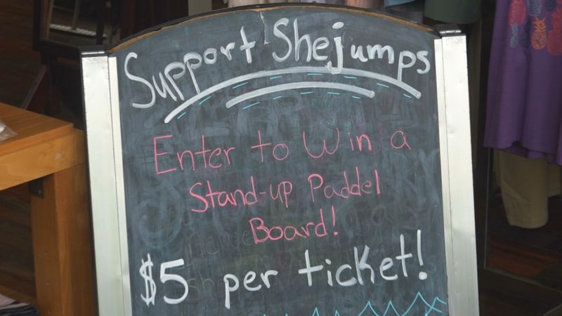 Walkabout Outfitter holds fundraiser for SheJumps.