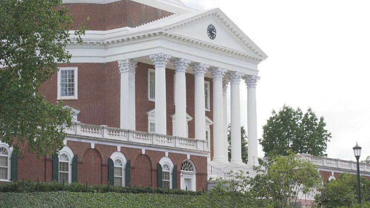 The University of Virginia Rotunda in Charlottesville (Source: WVIR)