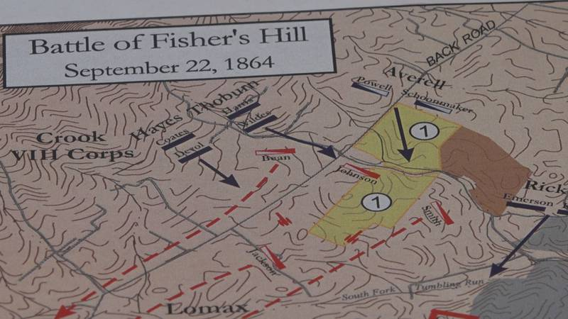 Walker says the Battle of Fisher's Hill was the beginning of the end of the confederacy in the...