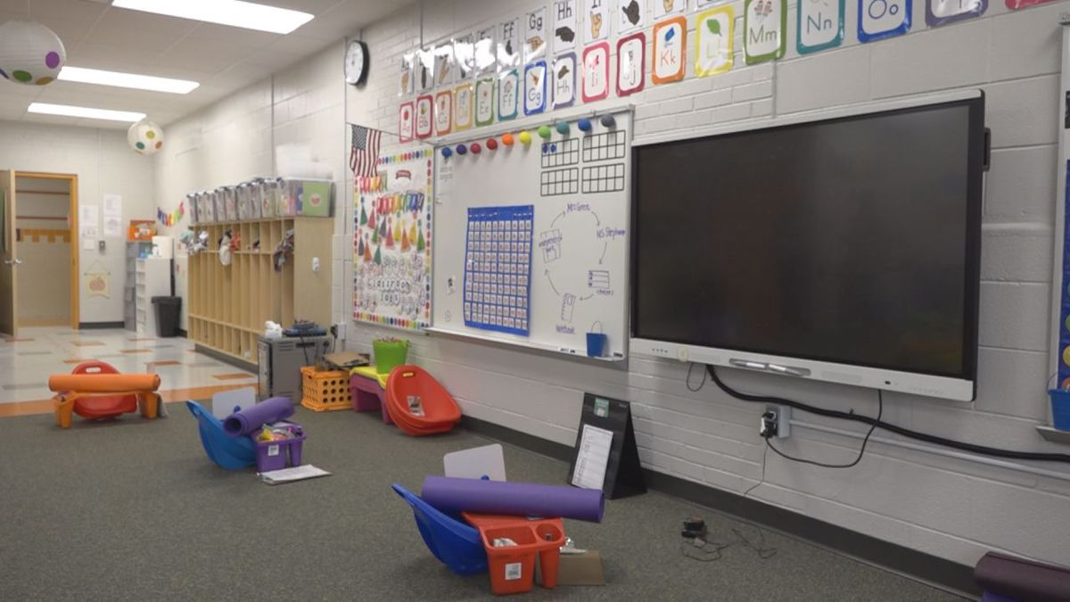 Classroom space has expanded and technology has been upgraded for students to use.