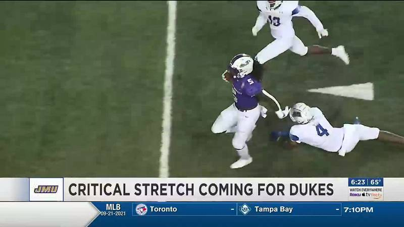 Critical stretch coming up for JMU football