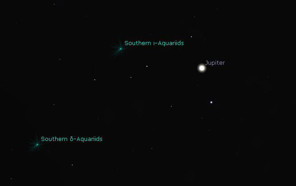 On July 29th, the Southern Aquariids Meteor Shower will peak producing 15-20 asteroids per hour.