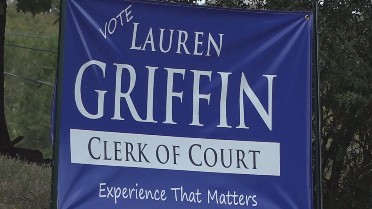 Lauren Griffin announced she was running for clerk of court earlier this year. | Credit: WHSV