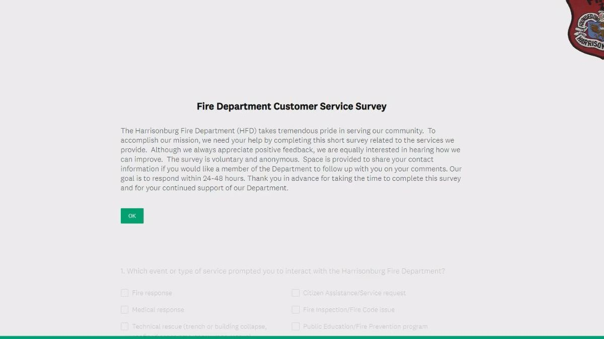 The fire department made their survey digital so it could be more accessible to everyone | Photo: WHSV