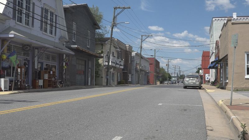 The business district of Downtown Broadway, which will get 3.6 million dollars in ARPA funding.