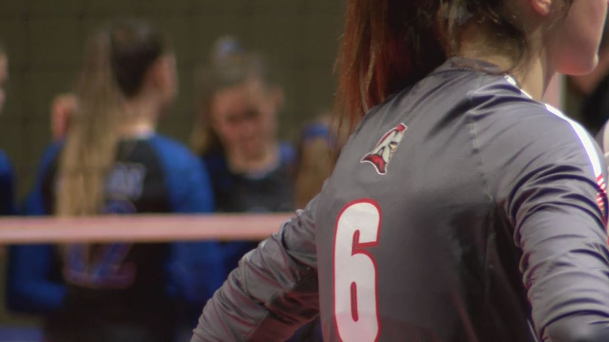 The Riverheads High School volleyball team lost to Auburn, 3-1, Saturday afternoon in the VHSL Class 1 State Championship match.