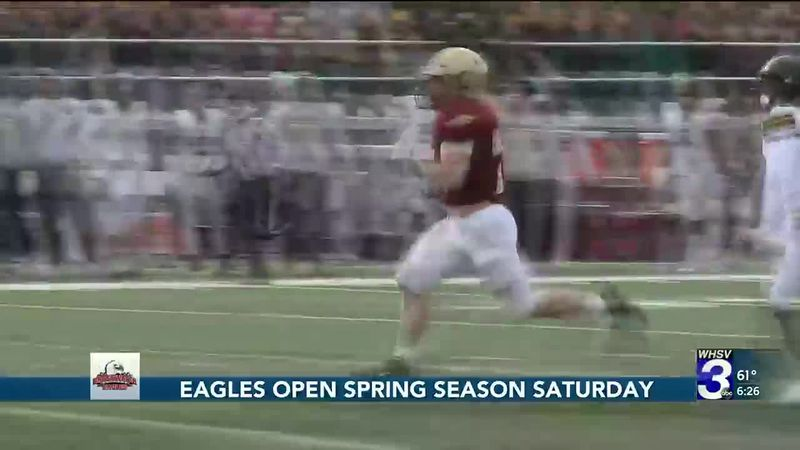 Eagles open spring season Saturday