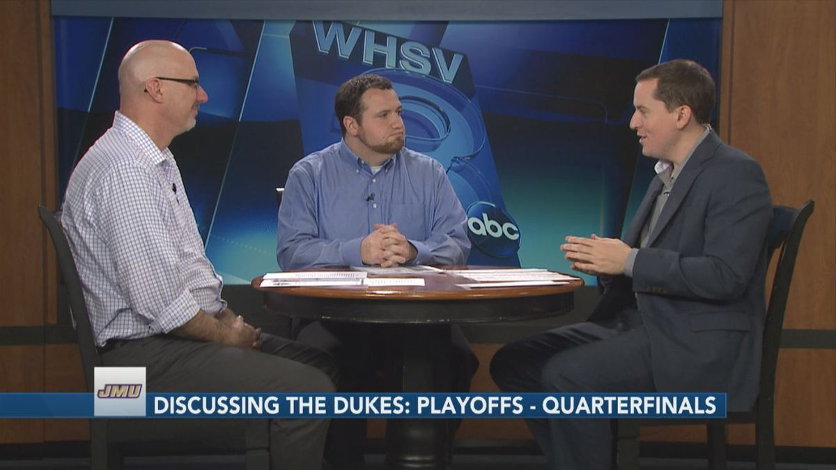 WHSV Sports Director TJ Eck is joined by Greg Madia and Dave Thomas to discuss the James...