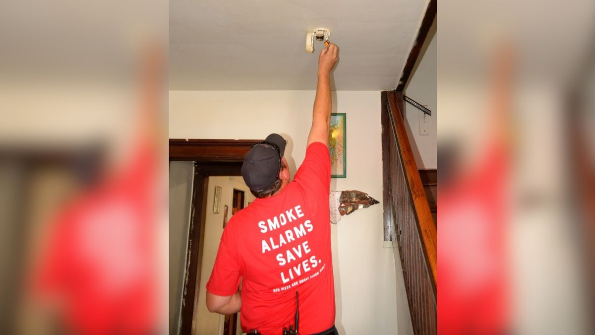 If your smoke alarm is intermittently beeping, its batteries need to be replaced.