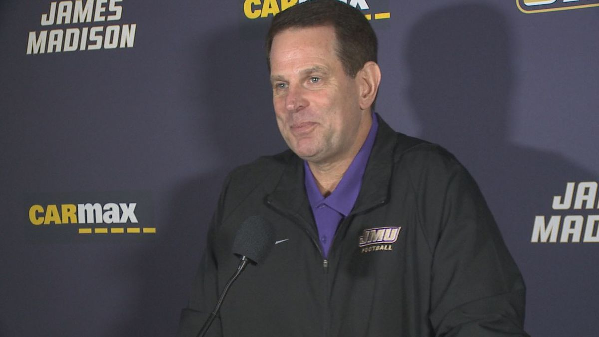 James Madison football head coach Curt Cignetti met with the media Monday afternoon for his weekly press conference.