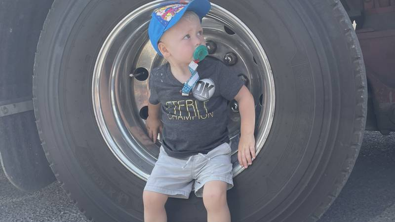 On Saturday Auto Body Pro Shop in Harrisonburg held a car show to raise money for the family of...